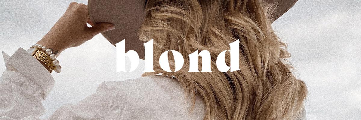 Pflege für blondiertes Haar - finde die richtigen Produkte für blonde Haare