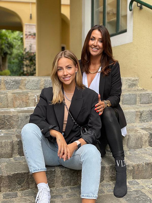 Christina and mum von feschi